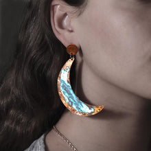Load image into Gallery viewer, New Moon Earrings