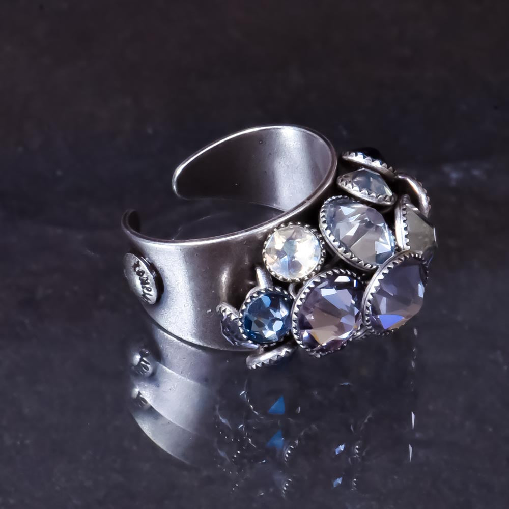 Waterfall Ring  - Pastel Multi-colour