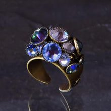 Load image into Gallery viewer, Waterfall Ring - Lilac