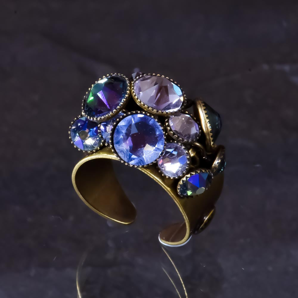 Waterfall Ring - Lilac