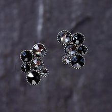 Load image into Gallery viewer, Inside Out Earrings - Black
