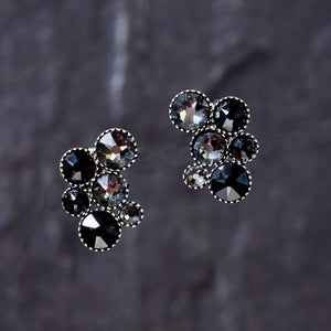 Inside Out Earrings - Black