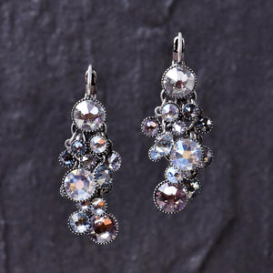 Waterfall Earrings - Lilac