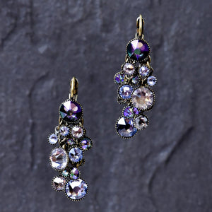 Waterfall Earrings - Pastel Multi-colour