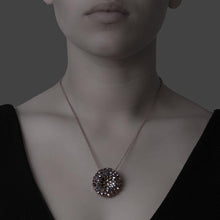 Load image into Gallery viewer, Inside Out Necklace - Black