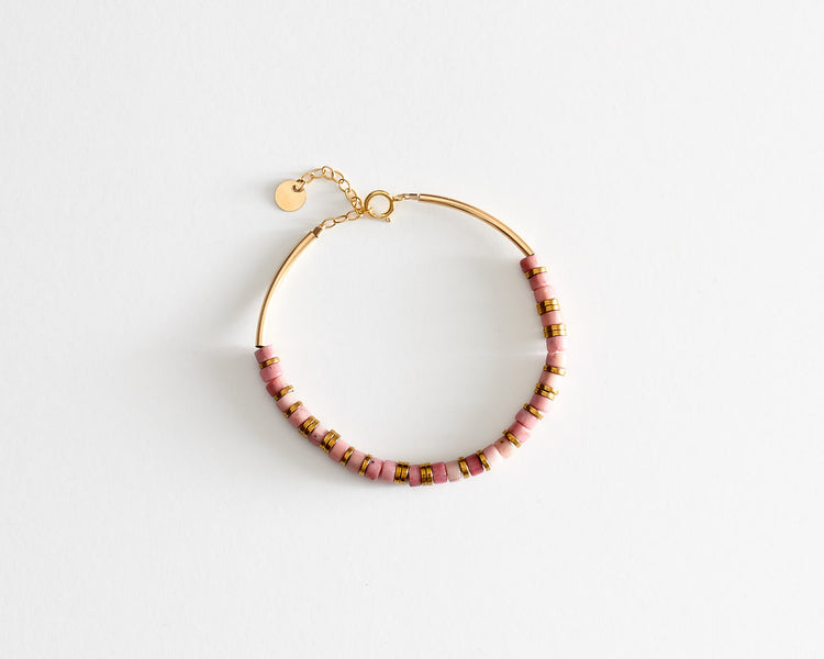 "Bracelet ""Native"" Rhodonite"