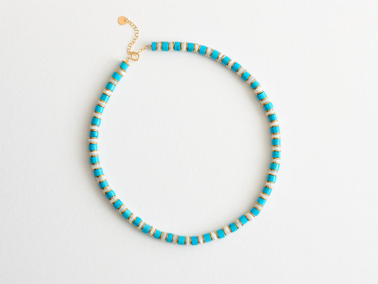 "Collier ""02"" Turquoise"