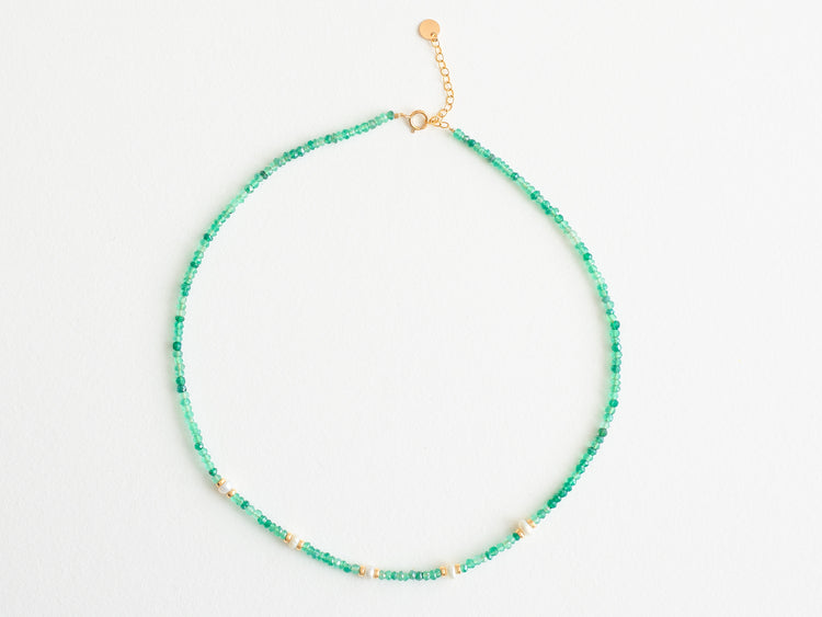 "Collier ""Green Aventurine"""