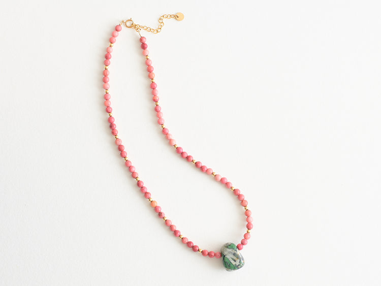 "Collier ""Verde d'Orezza"""