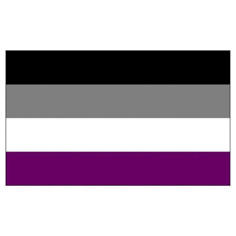 The Discriminant, Asexual Pride Flag, gender neutral clothing and accessories