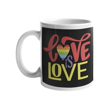 Pride Love is Love Mug