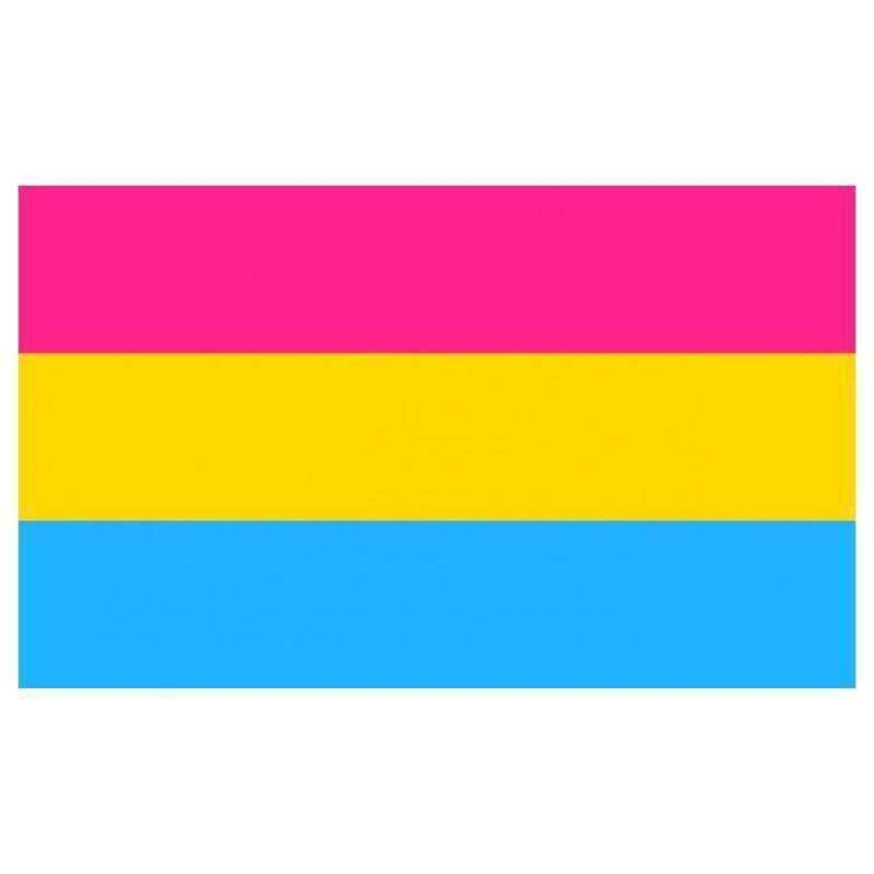 The Discriminant, Pansexual (Omnisexual) Pride Flag, gender neutral clothing and accessories