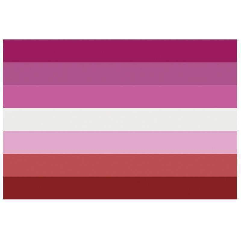 The Discriminant, Lipstick Lesbian Pride Flag, gender neutral clothing and accessories
