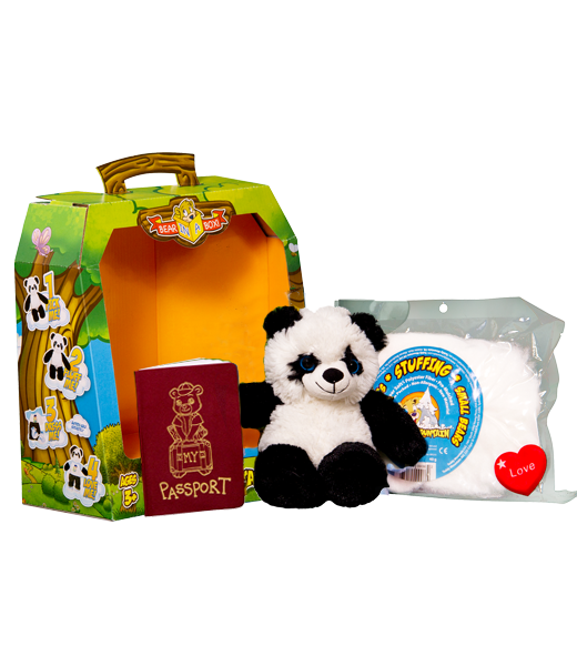 Teddy Bear Mountain Bamboo The Panda Plush Animal