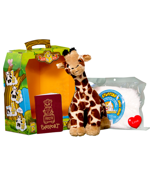 Teddy Bear Mountain Gerry The Giraffe Plush Animal