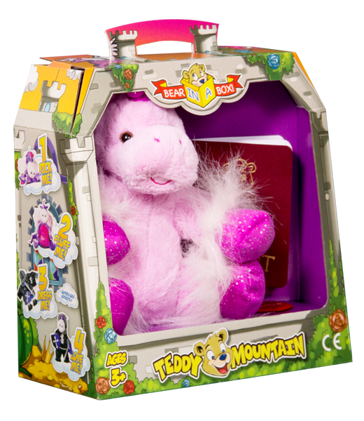 Teddy Bear Mountain Star The Unicorn Plush Animal