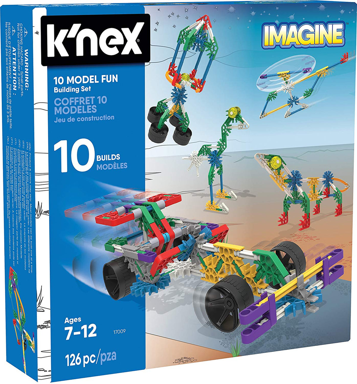 KNEX Imagine 10 Model Building Set
