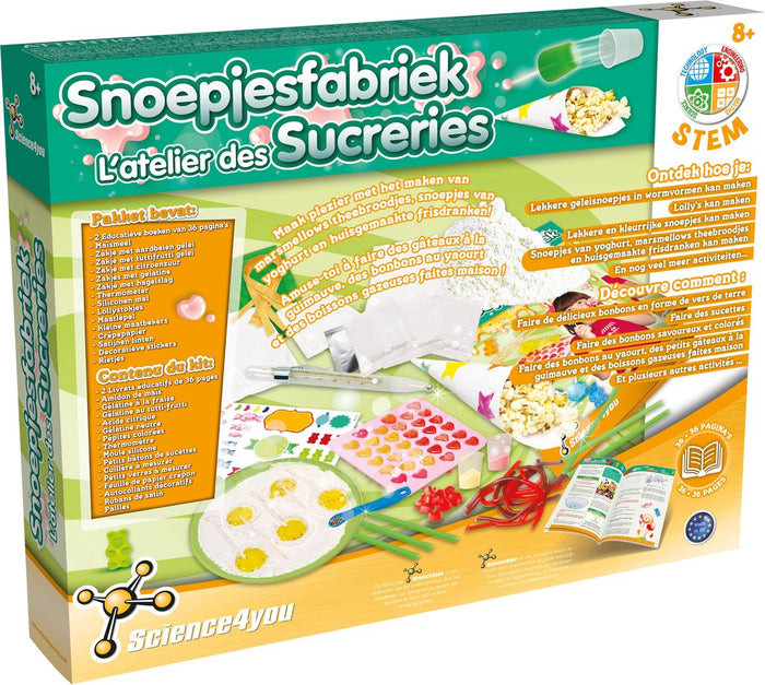 Science 4 U Candy Sweets Factory Kit