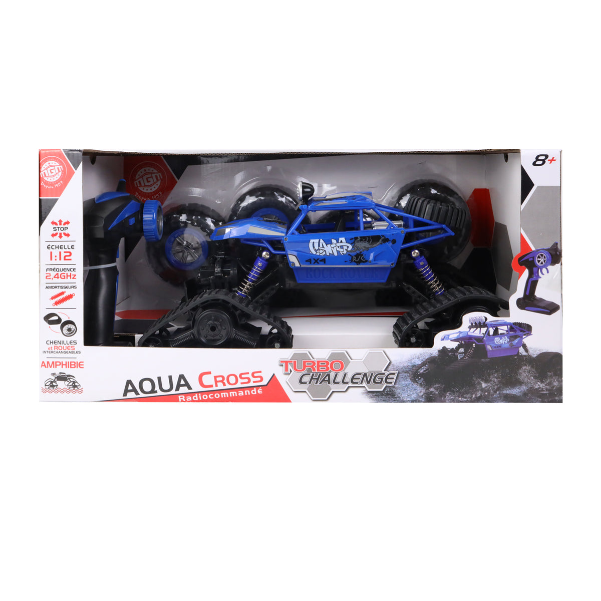 Turbo Challenge R/C Aqua Cross Amphibious Car