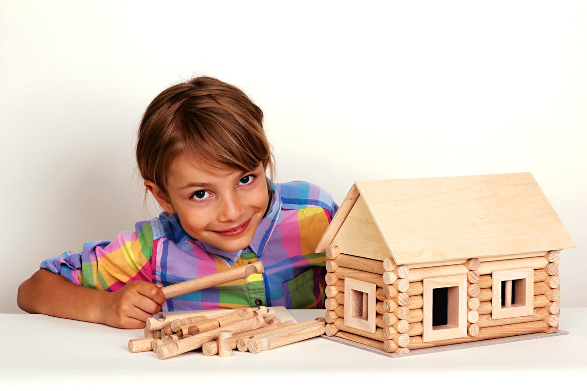 Walachia Vario Wooden Building Wooden Construction Set of 72 Pieces