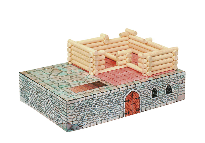 Walachia Vario Fort  Building Wooden Construction Set of 194 Pieces