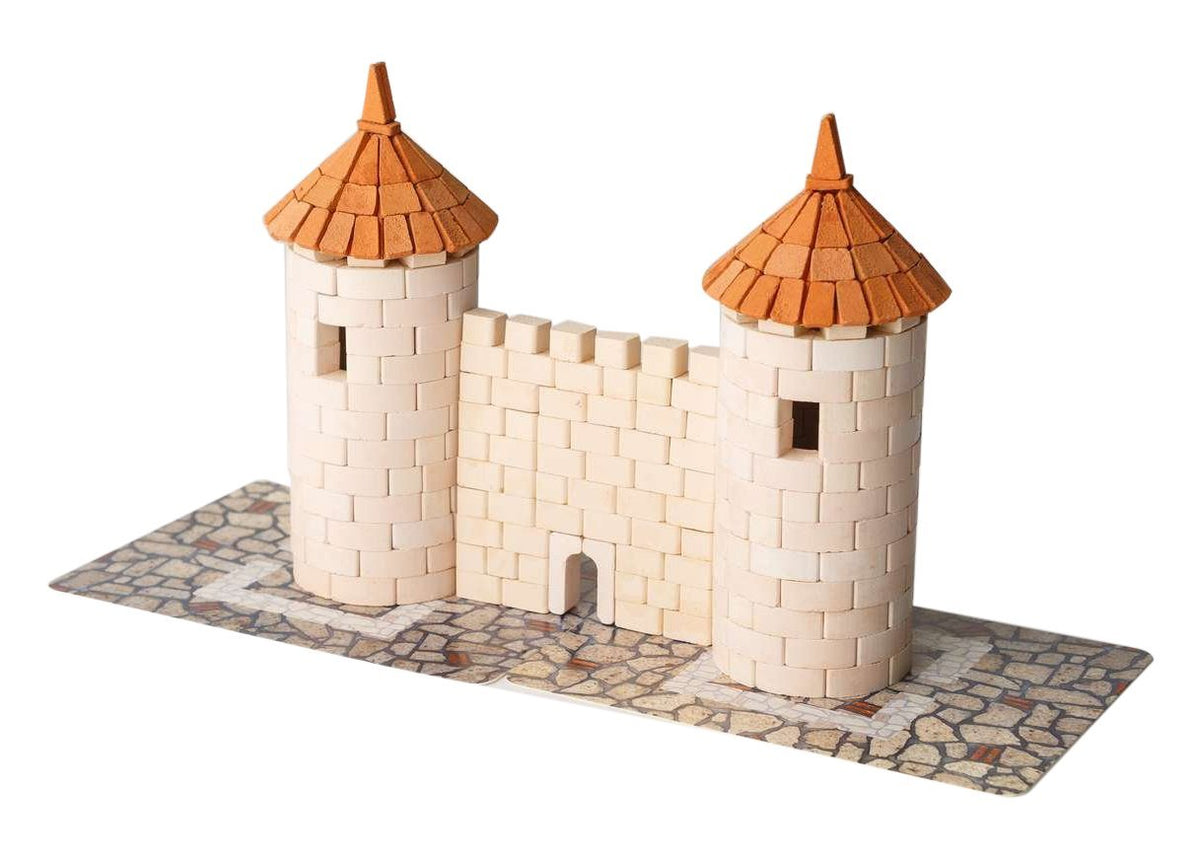 Wise Elk Toy Two Tower construction set