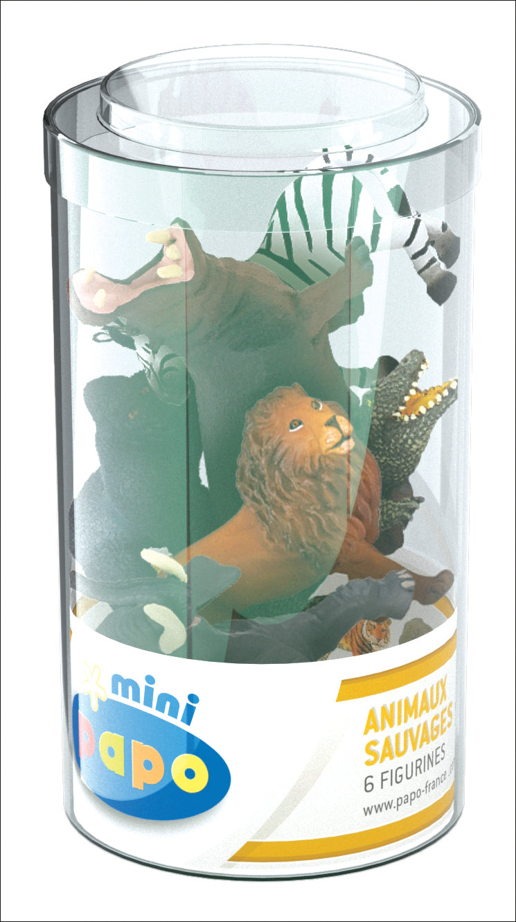 Papo Mini Plus Wlid Animals set 6 pcs