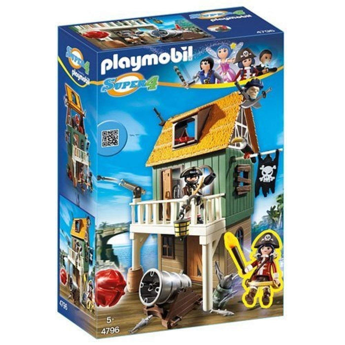 Playmobil 4796  Pirate Fort  Super 4  Hidden Island  94 Piece