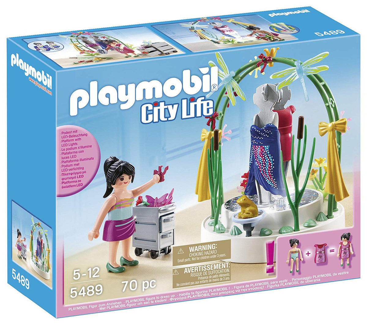 Playmobil 5489 City Life Shopping Centre Clothing Display