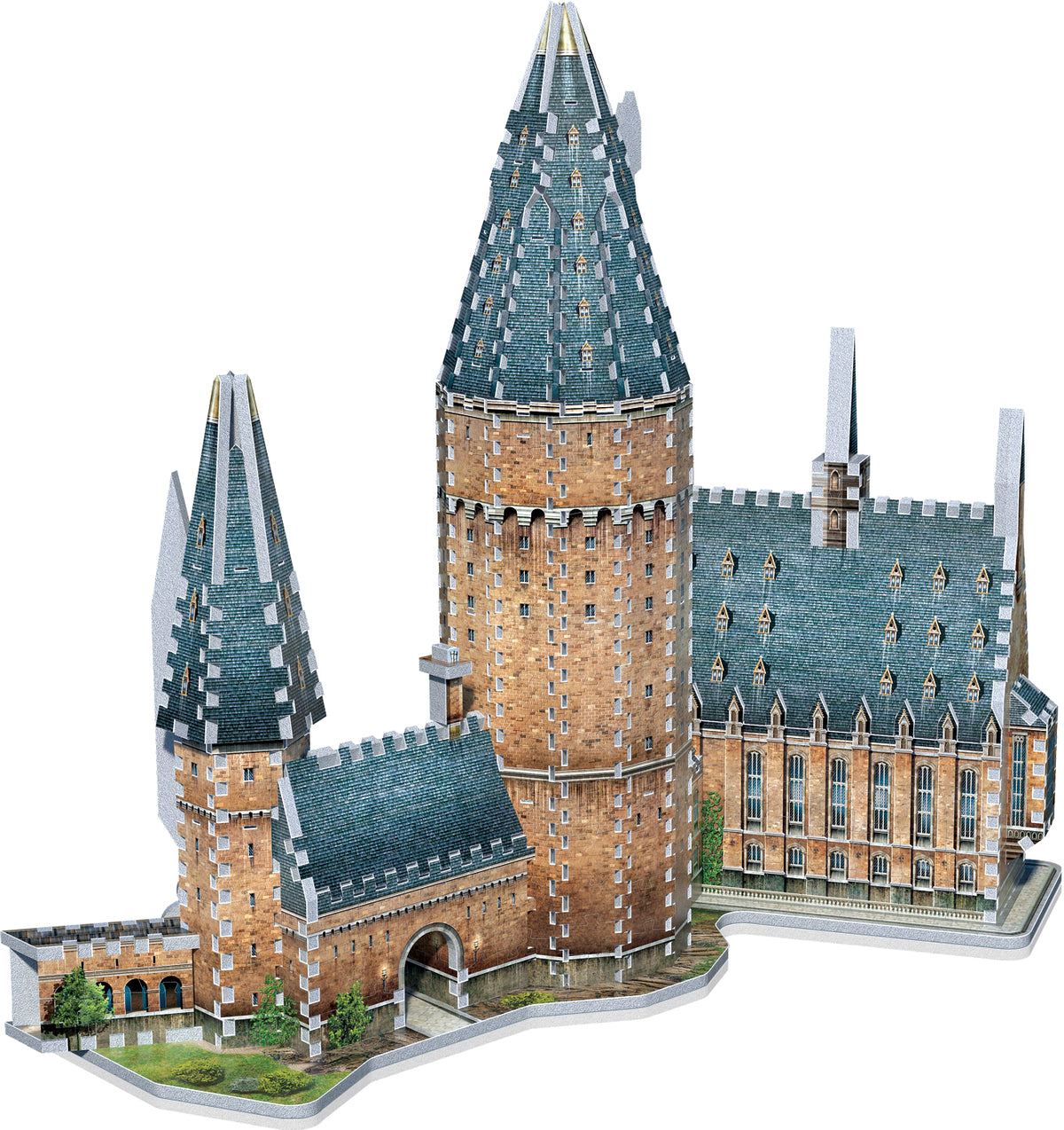 Wrebbit 3D Puzzle Harry Potter Great Hall 850 Pcs