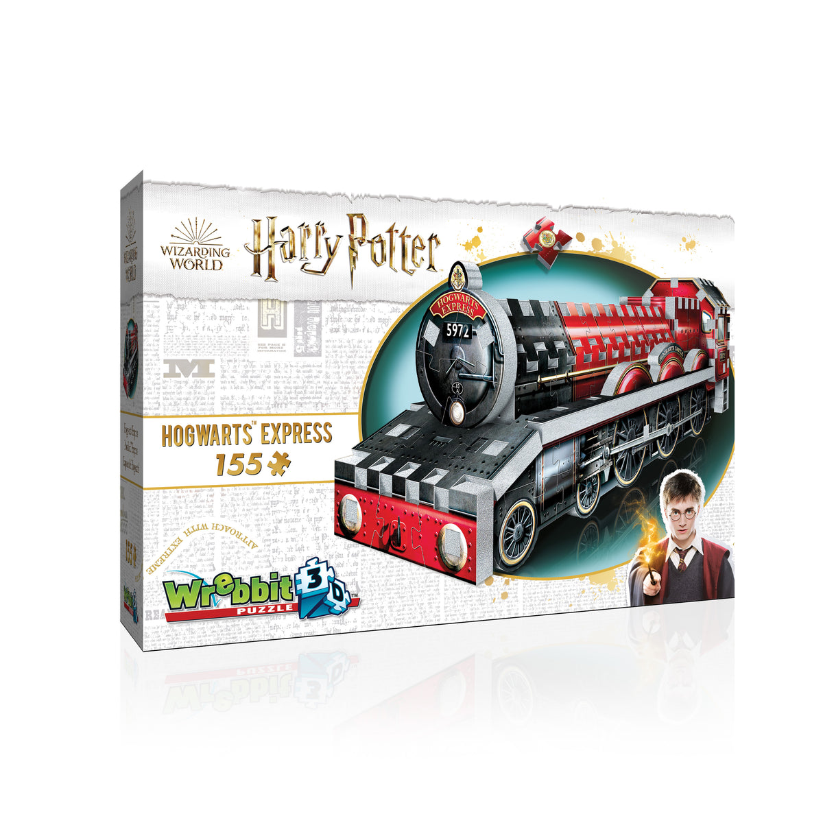 Harry Potter Hogwarts Express 155pcs  Wrebitt 3D Puzzle