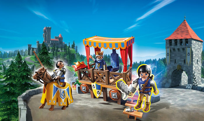 Playmobil 6695 Super 4 Royal Tribune with Alex