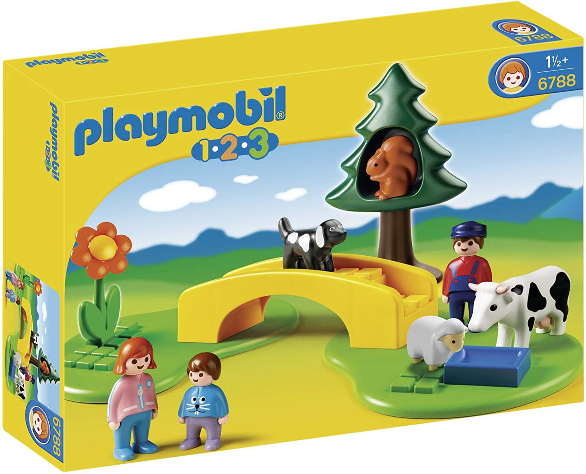 Playmobil 6788 Meadow Path 1.2.3