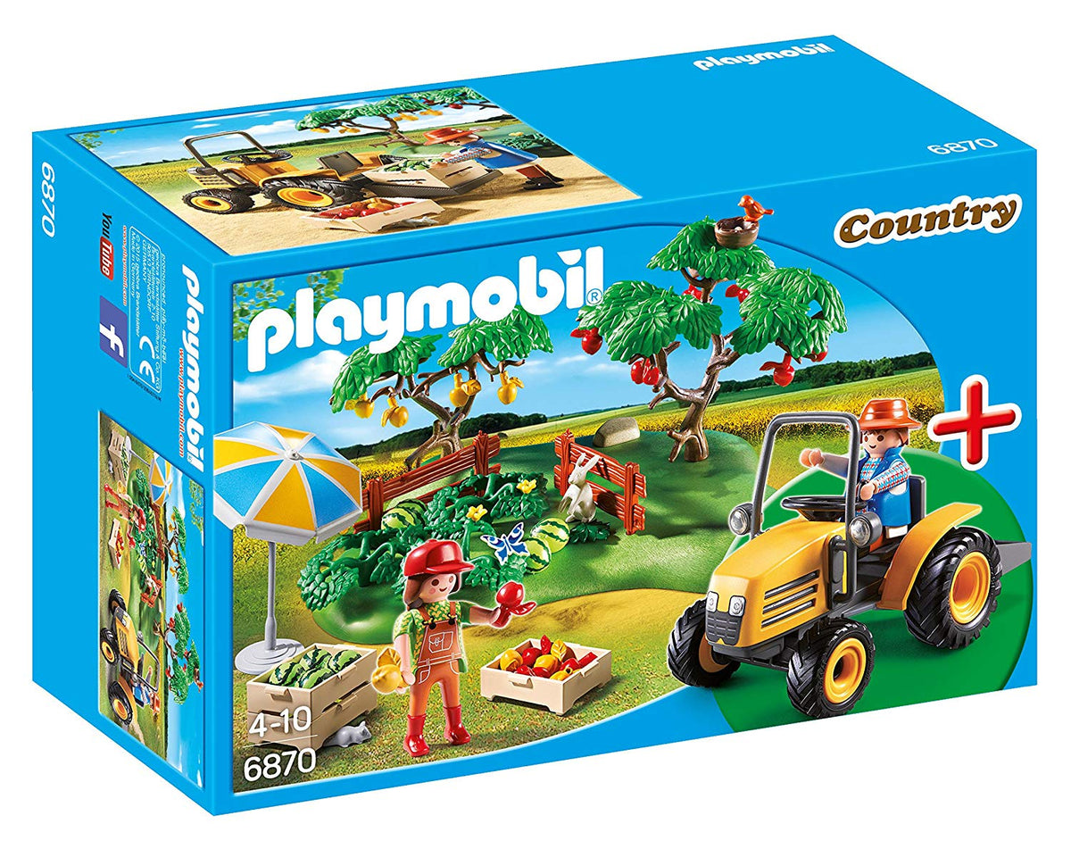 Playmobil 6870 Country Orchard Harvest Starter Set