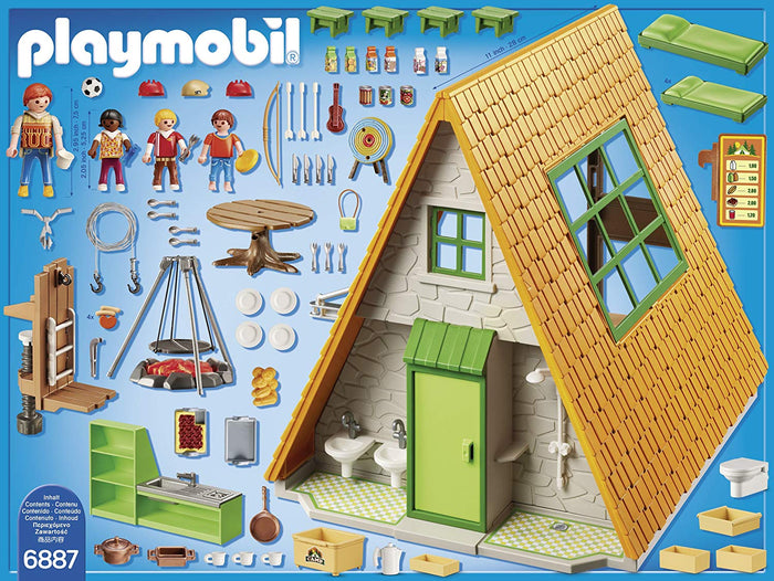Playmobil 6887 Summer Fun Camping Lodge