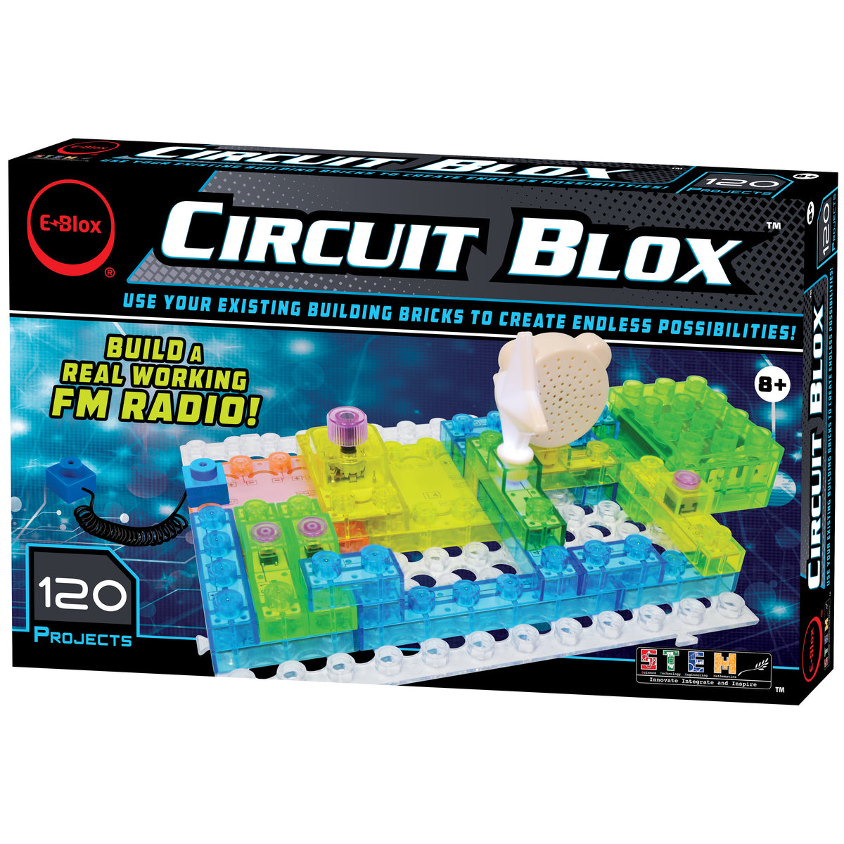 Circuit Blox 120 Projects E-blox
