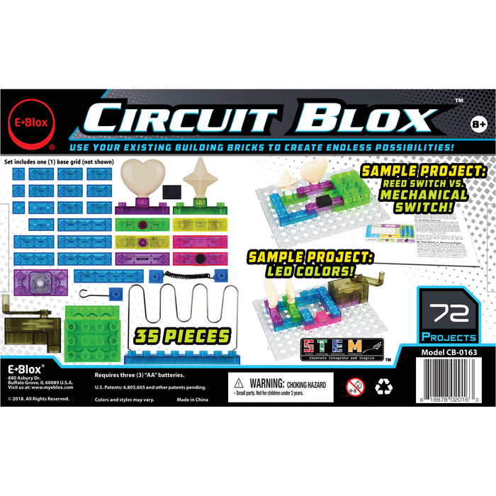 Circuit Blox 72 Projects  E-Blox