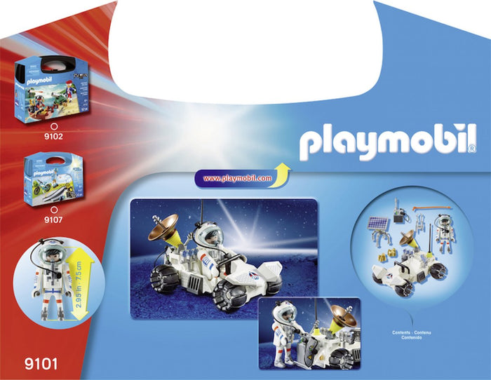 Playmobil 9101 City Action Space Explorer Carry Case