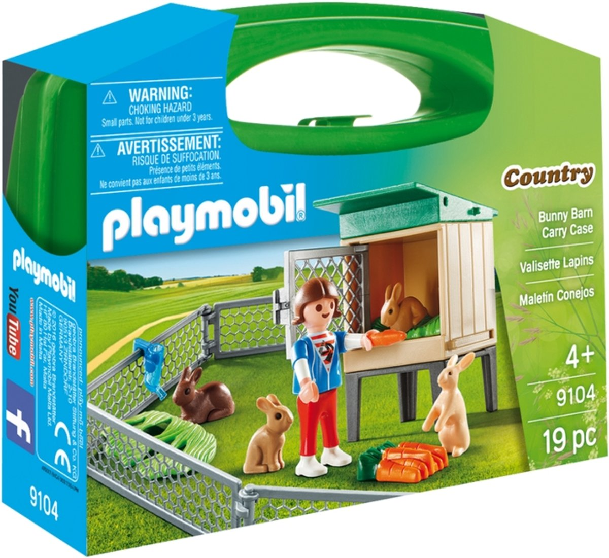 Playmobil 9104 Country Bunny Barn