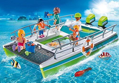 Playmobil 9233 Sport&Action Boat Glass Bottom