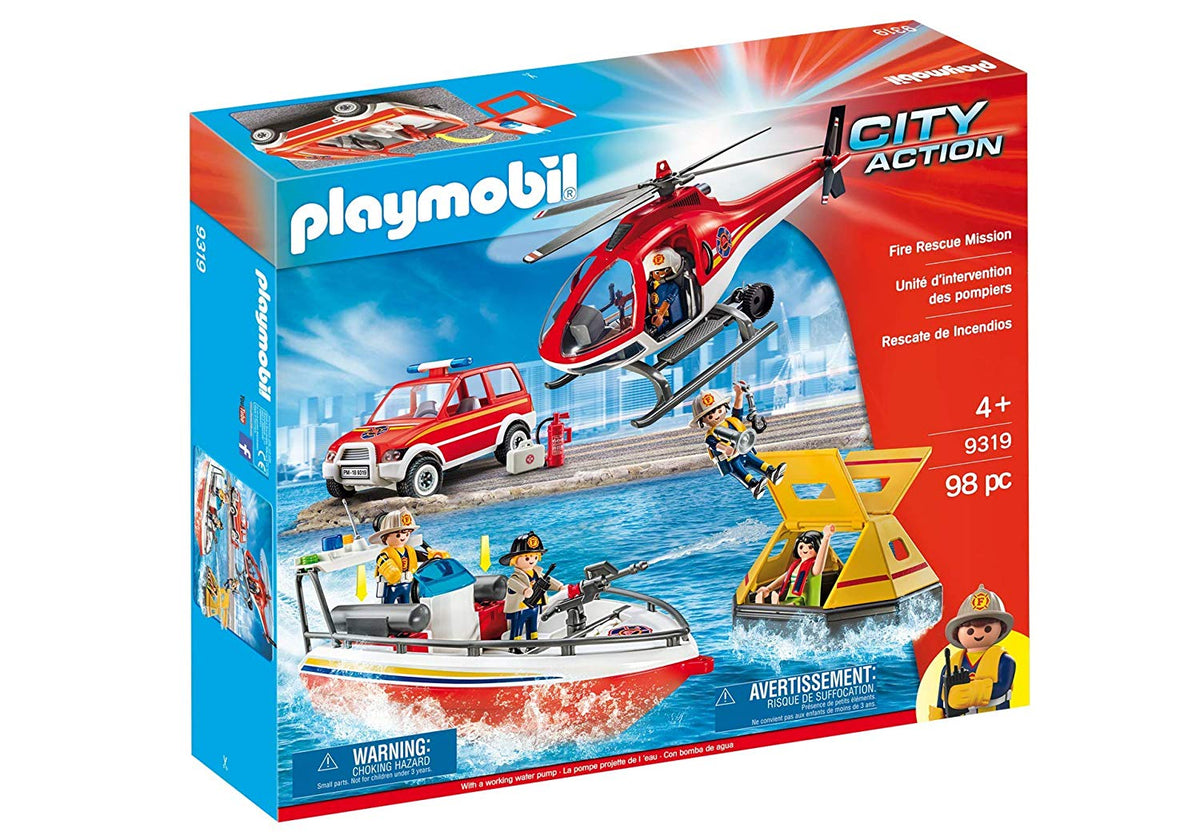 playmobil 9319 City Action Fire Rescue Mission