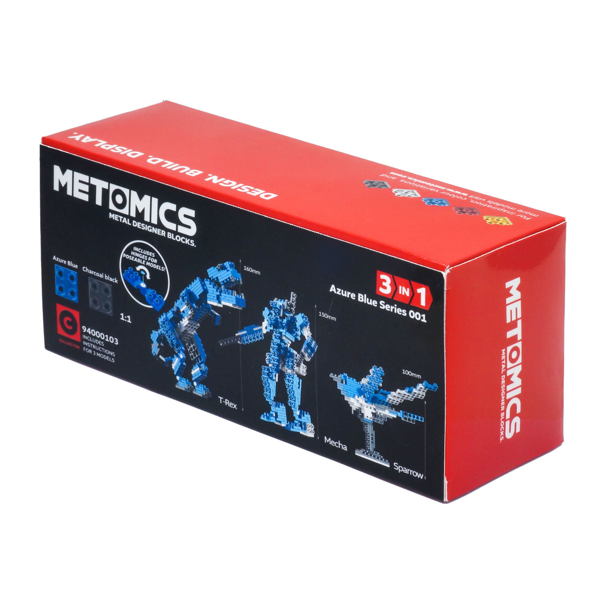 Metomics Mecha 3-IN-1 290 Designer Aluminium Blocks