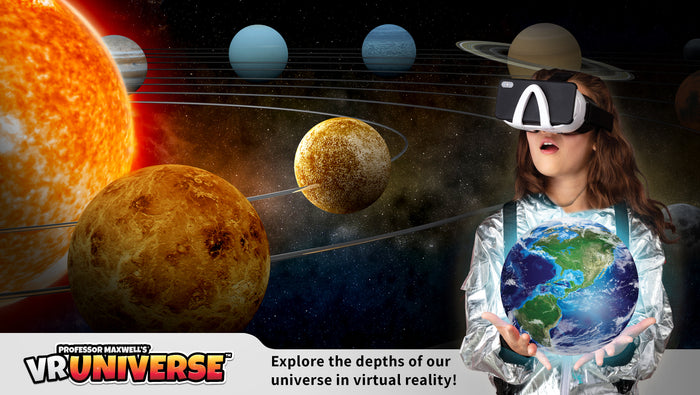 VR UNIVERSE Professor Maxwell's Virtual  Reality  Space Science Kit For Kids