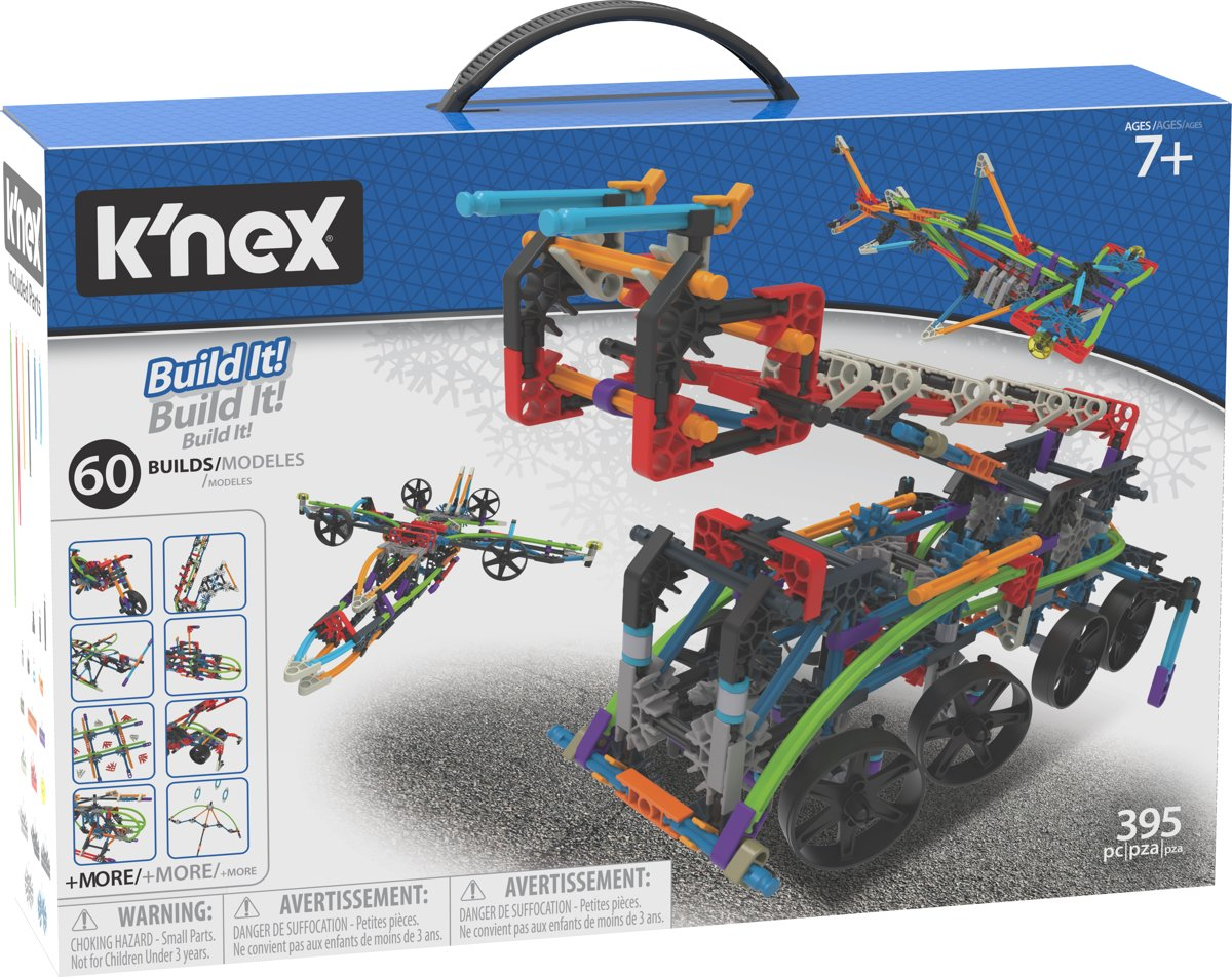 Knex Intermediate 60 Model Building Set