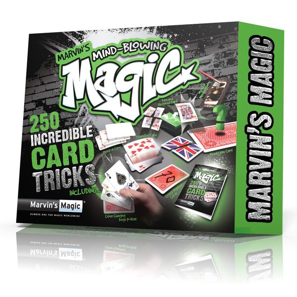 Marvin's Mind-Blowing Magic – 250 Incredible Card Tricks