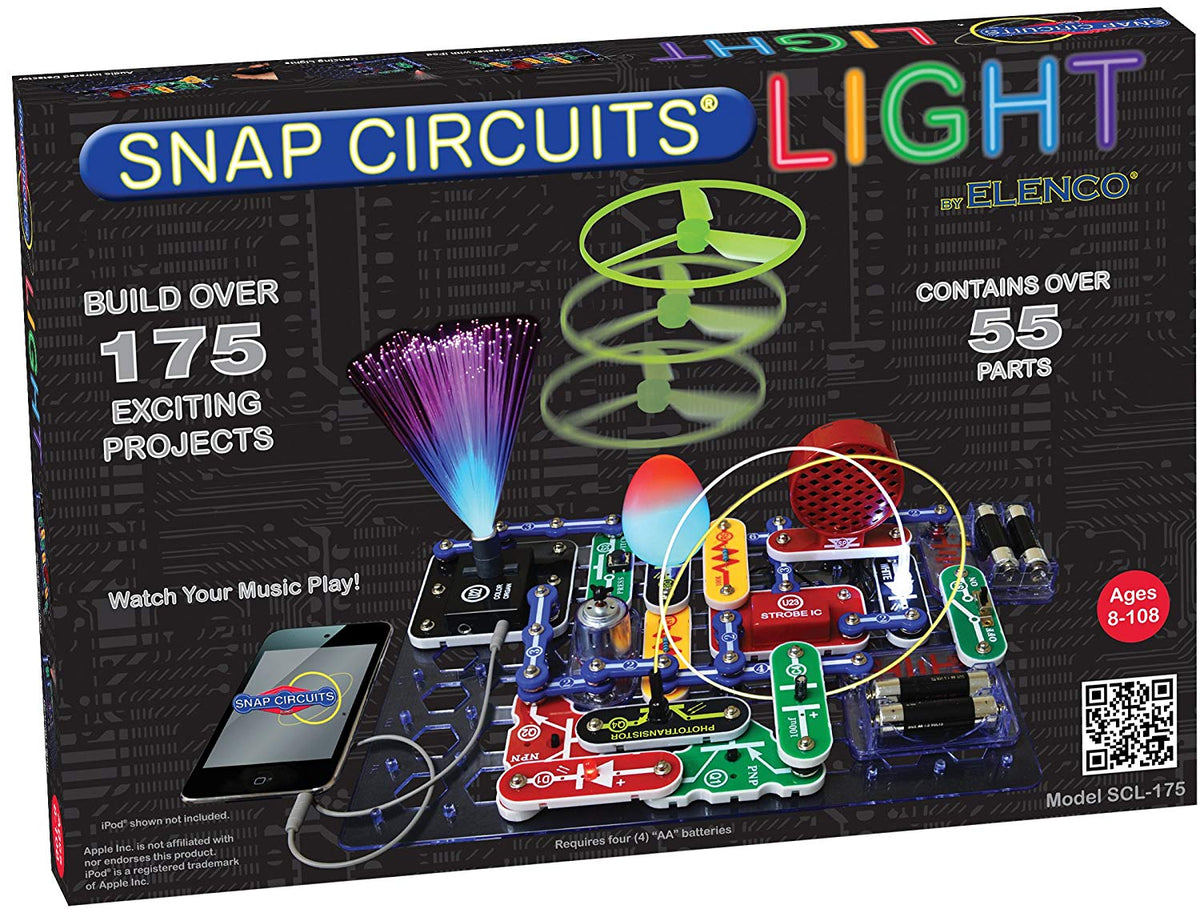Snap Circuits Light  Over 175 Exciting STEM Projects