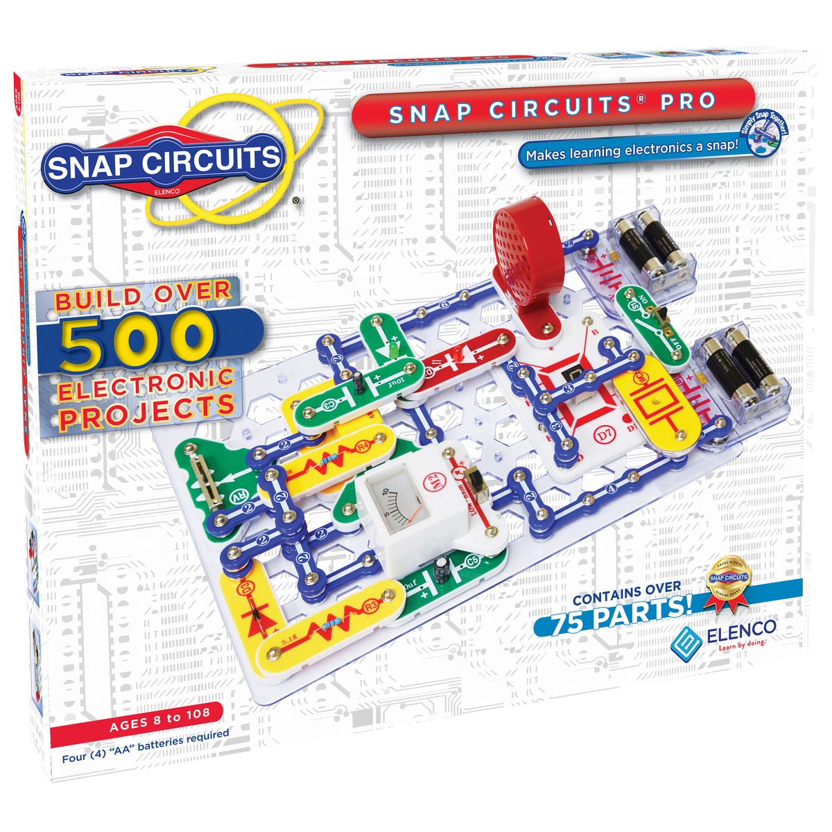Snap Circuits Pro Plus Over 500 Projects