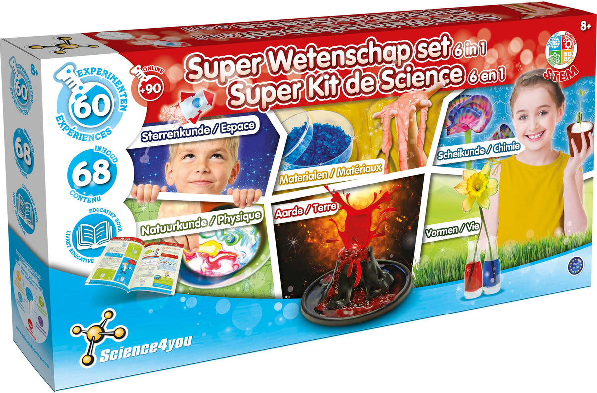 Science 4 U Super Science set 6 in 1