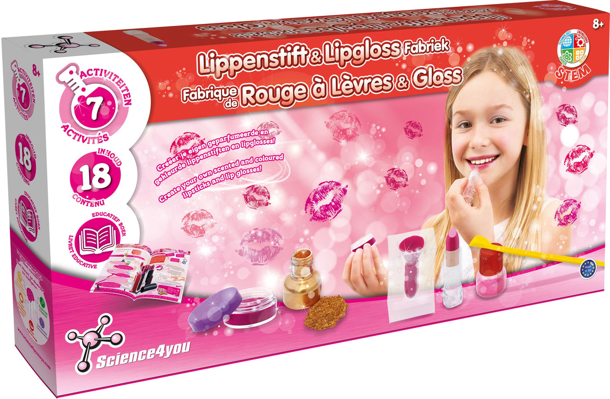 Science 4 U Lipstick & Lip gloss Factory  Superset