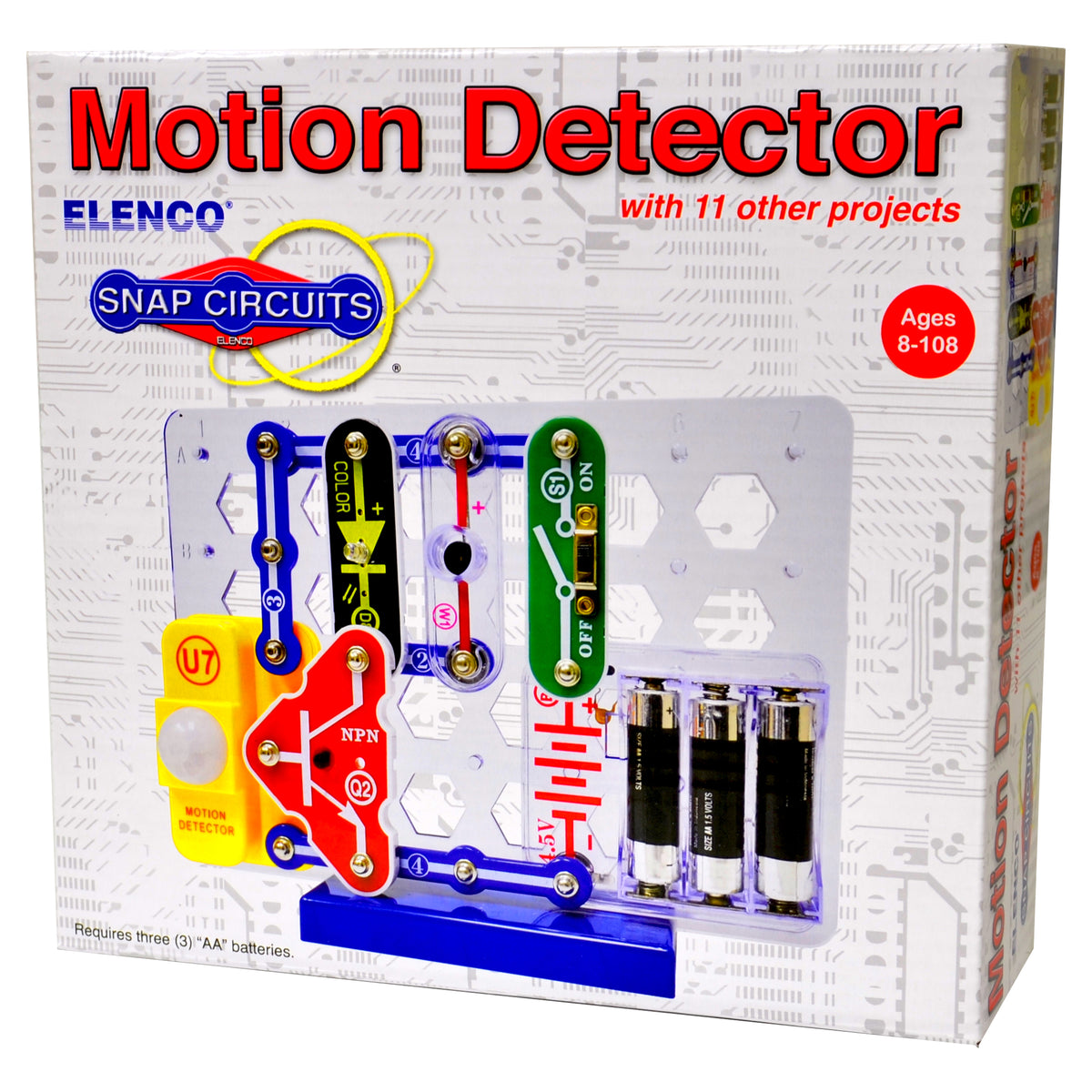 Snap Circuit Build  Motion Detector & 11 Other STEM Projects